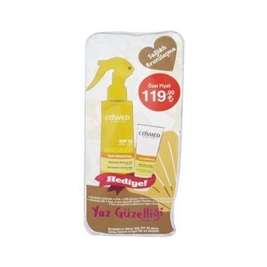 Cosmed Sun Essential SPF50 Bronzing Tanning Oil 200ml Set Renksiz